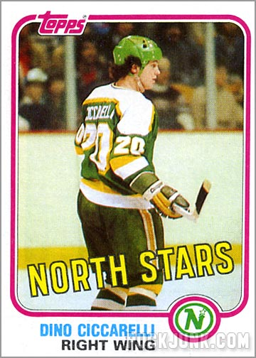 1981-82 Topps #105 West - Dino Ciccarelli
