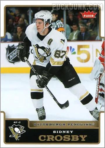 2006-07 Fleer #154 - Sidney Crosby
