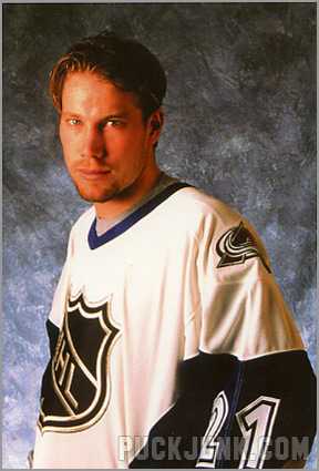 1998-99 Panini Photocards - Peter Forsberg (All-Star)