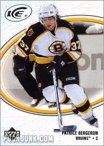 2005-06 Upper Deck Ice #9 - Patrice Bergeron