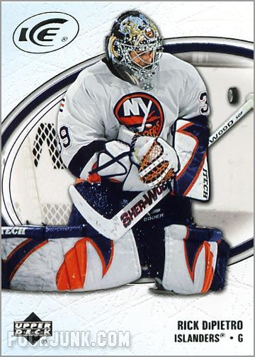 2005-06 Upper Deck Ice #61 - Rick DiPietro