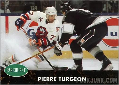 1991-92 Parkhurst #106 - Pierre Turgeon