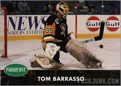 1991-92 Parkhurst #139 - Tom Barrasso