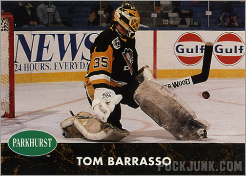 1991-92 Parkhurst #139 - Tom Barrasso