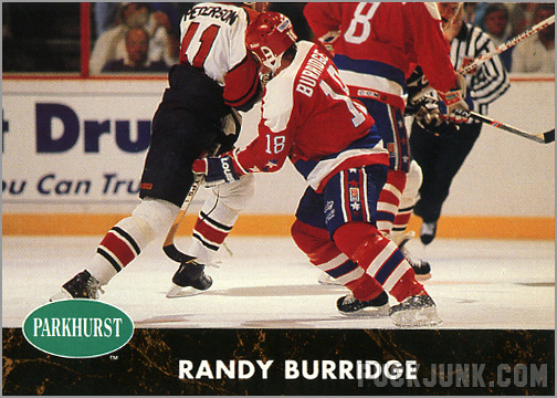 1991-92 Parkhurst #190 - Randy Burridge