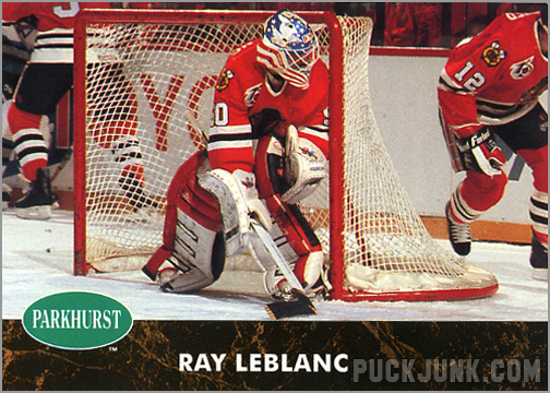 1991-92 Parkhurst #255 - Ray Leblanc