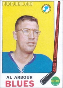 Al Arbour 1969-70 O-Pee-Chee hockey card
