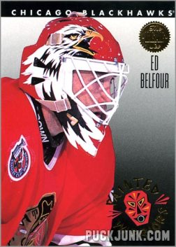 1992-93 Leaf Painted Warriors Ed Belfour