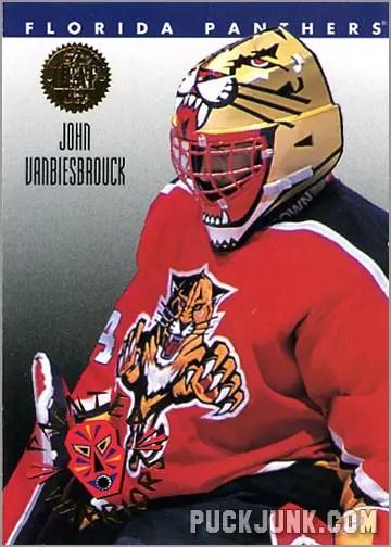 1992-93 Leaf Painted Warriors John Vanbeisbrouck