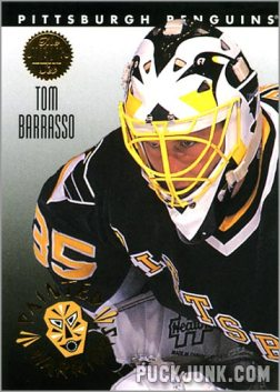 1992-93 Leaf Painted Warriors Tom Barrasso