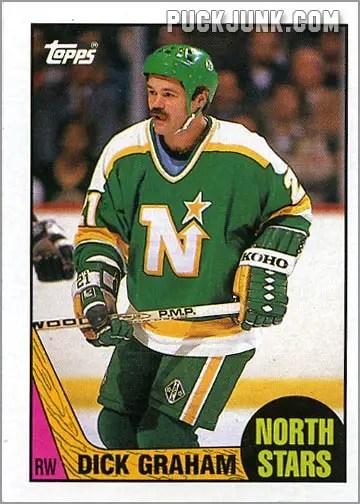 1987-88 OPC #184 - Dirk Graham