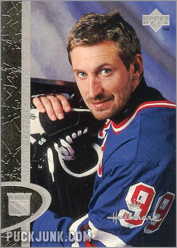 Wayne Gretzky Ornament - trading card front