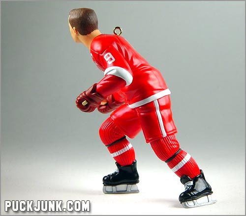 1999 Gordie Howe Ornament - left