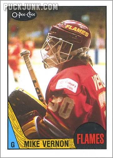1987-88 OPC #215 - Mike Vernon