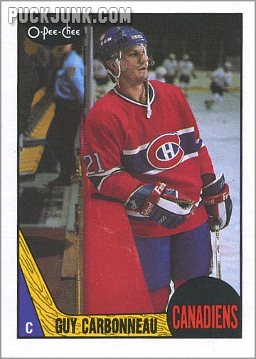 1987-88 OPC #232 - Guy Carboneau