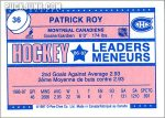 Review: 1987-88 O-Pee-Chee Leaders