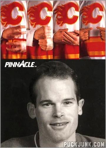 Jim Kyte hockey card