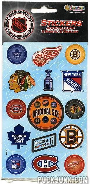 Original Six Stickers