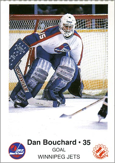 1985-86 Winnipeg Jets - Dan Bouchard