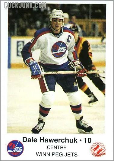 1985-86 Winnipeg Jets - Dale Hawerchuk