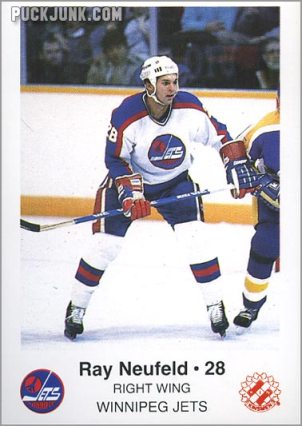 1985-86 Winnipeg Jets - Ray Neufeld