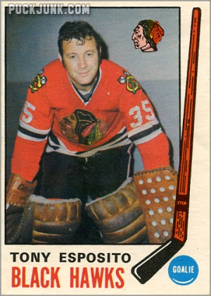 Tony Esposito rookie card
