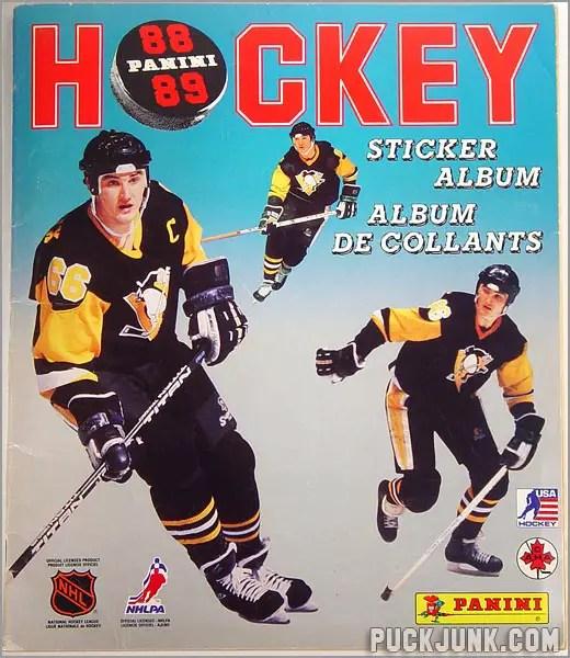1988-89 Panini Sticker Album