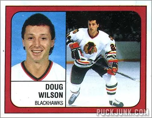 1988-89 Panini Stickers #24 - Doug Wilson