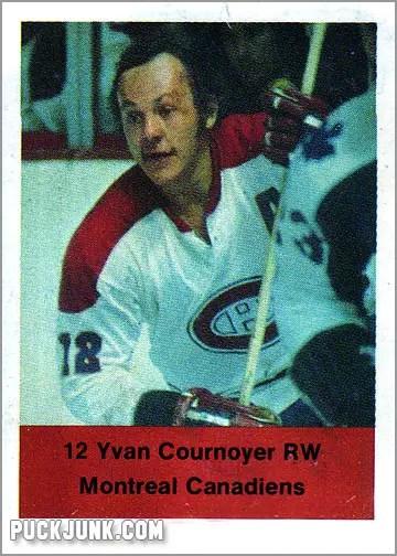 1970-71 Esso Yvan Cournoyer