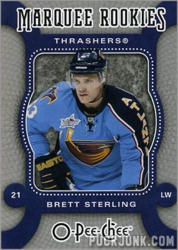 2007-08 O-Pee-Chee #509 - Brett Sterling
