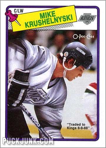Mike Krushelnyski Hockey Card