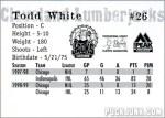 Review: 1999-00 Cleveland Lumberjacks team set