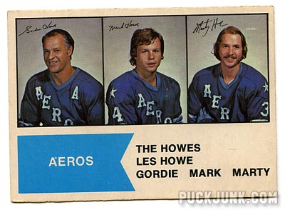 1974-75 O-Pee-Chee The Howes