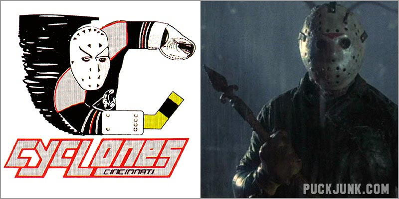 Cincinnati Cyclones & Jason Vorhees