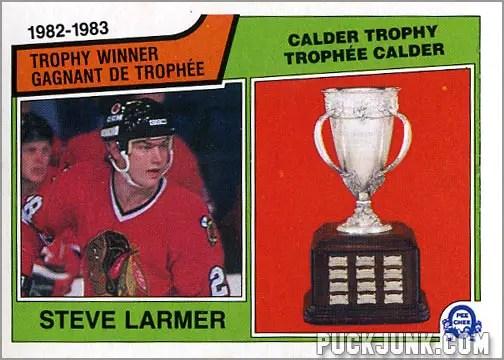 Steve Larmer / Calder Trophy Winner