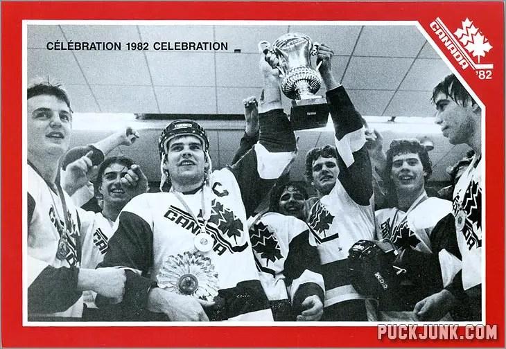 1982 Team Celebration