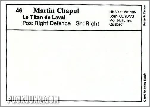 Martin Chaput