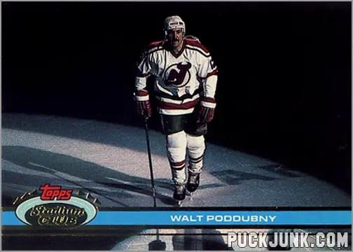 1991-92 Topps Stadium Club card #177 - Walt Poddubny