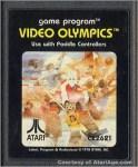 Video Olympics for the Atari 2600