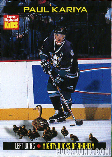 1999 Sports Illustrated For Kids card #792 - Paul Kariya
