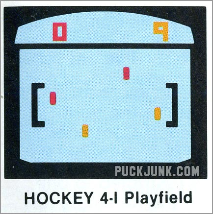 sVideo Olympics Hockey 4 playfield