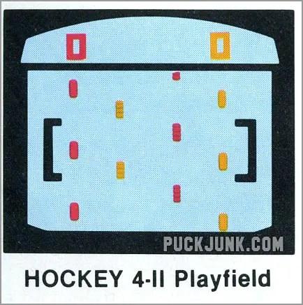 sVideo Olympics Hockey 4-2 playfield