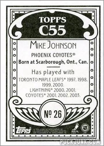 2003-04 Topps C55 #26 - Mike Johnson (back)