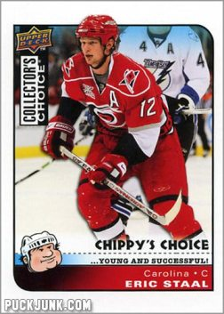 2008-09 Collector's Choice #288 - Eric Staal (Chippy's Choice)