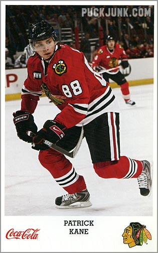 Review: 2007-08 Chicago Blackhawks team set