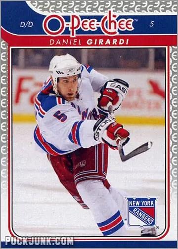 2009-10 OPC #89 - Dan Girardi