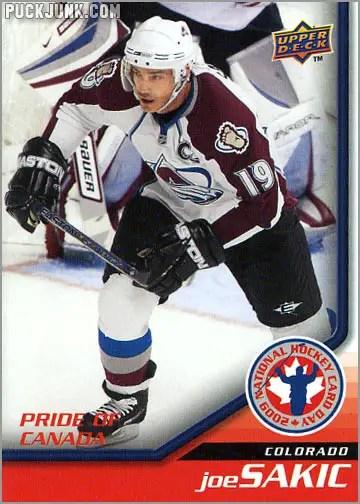 2009 National Hockey Card Day #9 - Joe Sakic