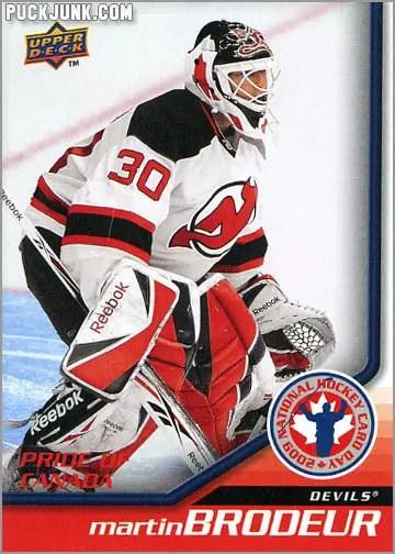 2009 National Hockey Card Day #10 - Martin Brodeur