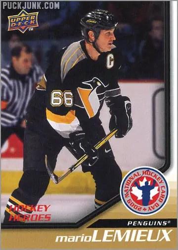 2009 National Hockey Card Day #12 - Mario Lemieux