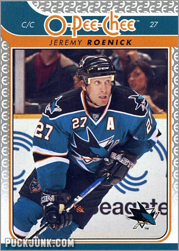2009-10 OPC #359 - Jeremy Roenick (front)